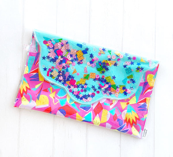 Confetti Clutch - {Geo Magic}