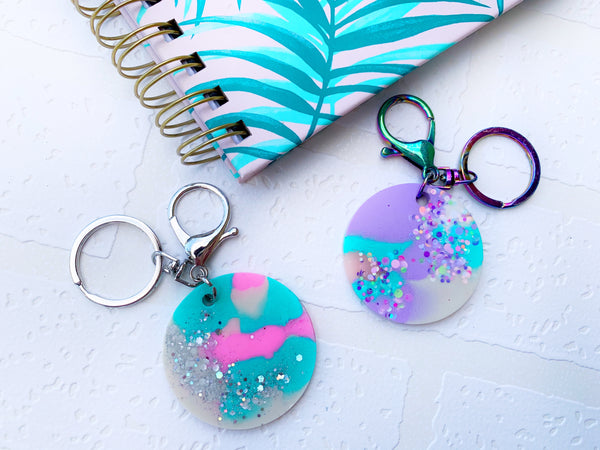 Resin Keyring - { Roundies }