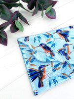 PVC Clutch - {Kingfishers}
