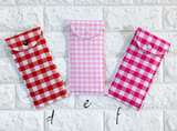 Glasses Case - {Gorgeously Gingham}