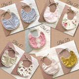 Baby Bibs - {Cotton Trim}