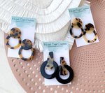 Acrylic Earrings - {Animal Print}