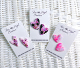 Heart Statement Studs - {Loved Up}
