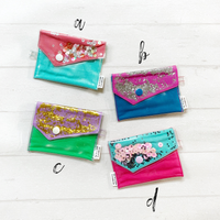 Confetti Coin/Card Purse - { Stunning Solids }