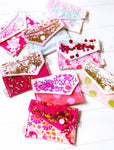 Confetti Coin/Card Purse - { Pretty in Pink }