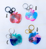 Resin Keyring - { Apples }