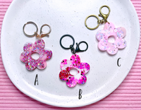 Disco Daisy Keyrings - {Loved Up}
