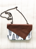 Crossbody Clutch - {BoHo Feathers}