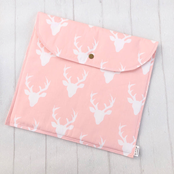 Nappy Clutch - {Pink Deers}