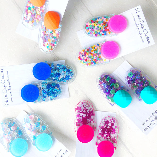 Confetti Earrings - {So Glitz}