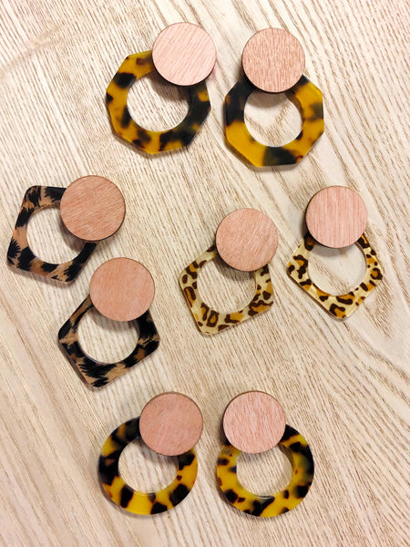 'Brooklyn' Earrings - {Leopard Lover}