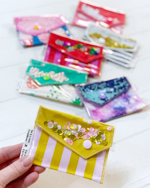 Confetti Coin/Card Purse - { Fun Prints }