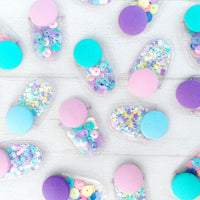Confetti Earrings - {pastel perfection}