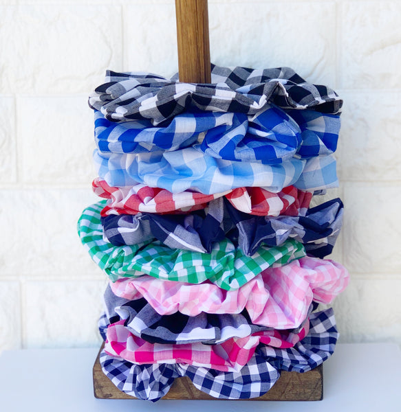 Super Scrunchies - {Gorgeously Gingham}