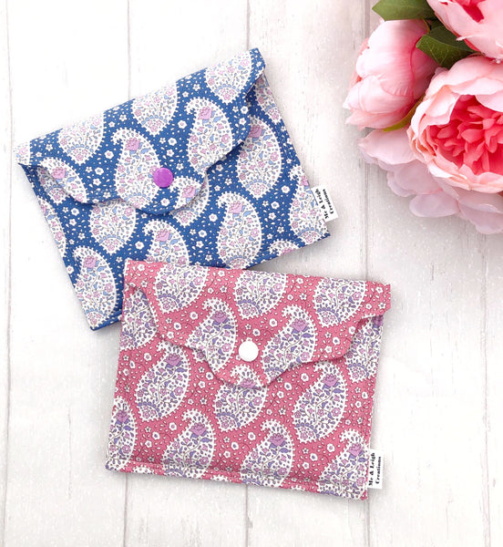 Super Mini Clutch - {Pastel Paisley}