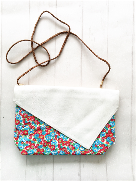 Crossbody Clutch - {Red/Blue Liberty}