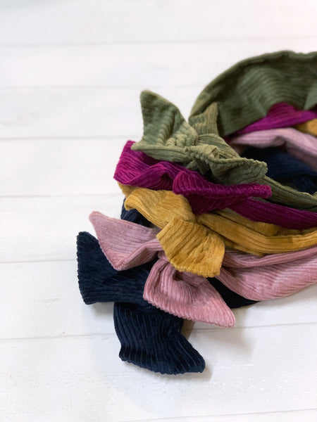 Twist & Go Head Wraps - { Corduroy }