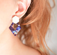 'Piper' Earrings - {Diamonds}
