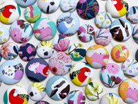Fabric Magnets - {Australiana}