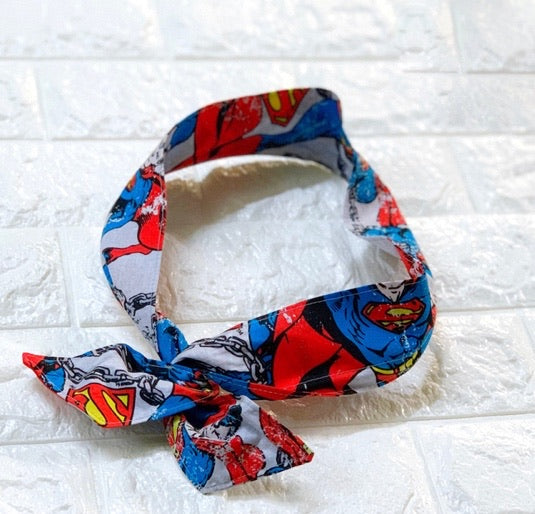 Twist & Go Headwrap - Superman