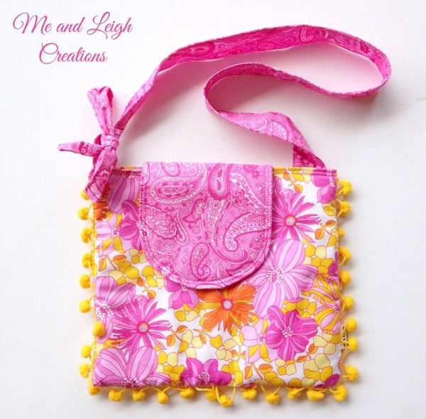 Girls Crossbody Bag - {Bright Summer}