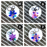 Maxi Keyrings - {Disco Daisy}