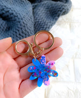 Mini Keyrings - {Disco Daisy}
