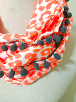 {ANIMAL PRINT COLLECTION} - Neon Leopard Infinity Scarf