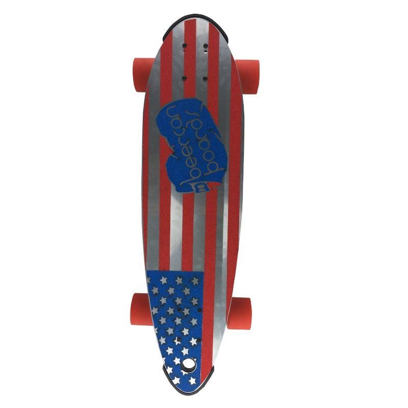 "U.S.A. 30"" Pin Tail Longboard"