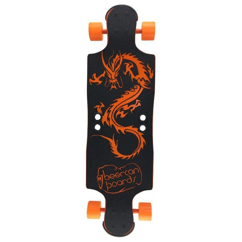 "Orange Dragon 35"" Hard Cider Longboard"