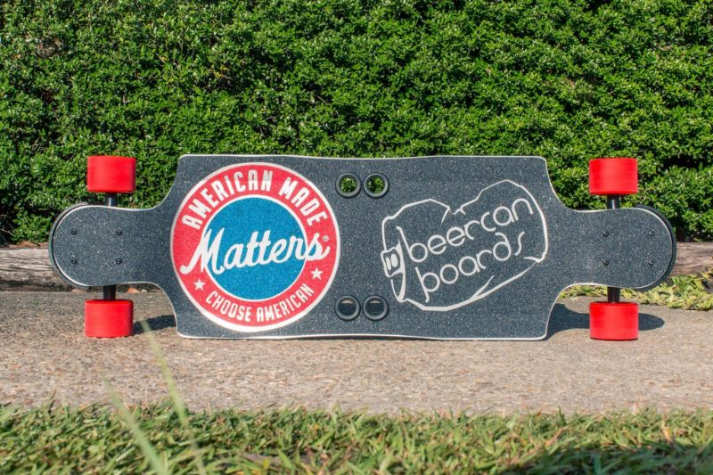 "American Made Matters 35"" Hard Cider Longboard"