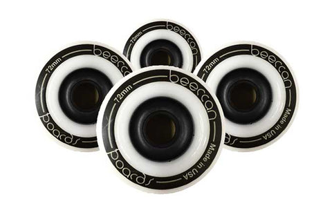Ground Wheels - 72mm, White