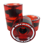 Drag Slicks - 70mm, Red (Transparent)