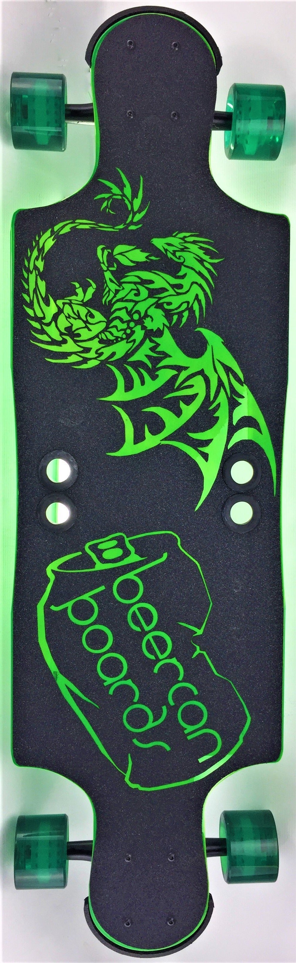 "Green Dragon 35"" Hard Cider Longboard"