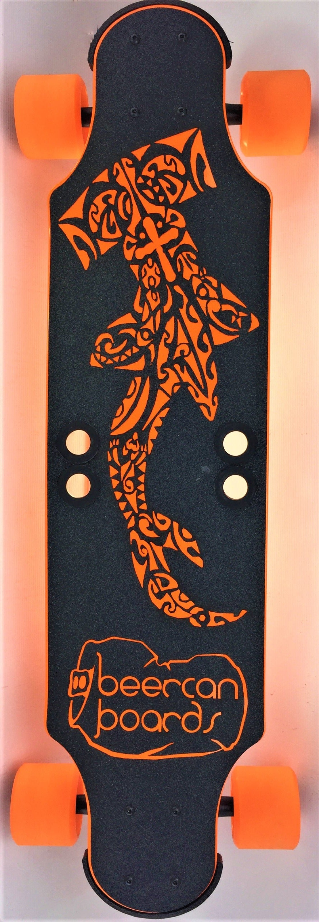 "Orange Hammerhead 32"" Ginger Ale Longboard"