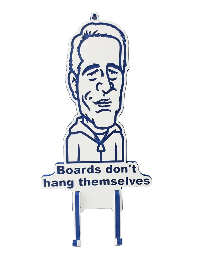 Boards Don't Hang Themselves Rack