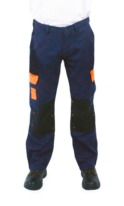 Kolossus Original Fit 100% Cotton Work Pant with Cordura Knee Reinforcement