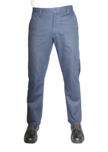Kolossus Original Fit 100% Cotton Utility Cargo Pant with Multipurpose Pockets