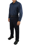 KS05 - Kolossus Men's Lightweight 100% Cotton Long Sleeve Work Shirt with Pockets