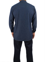 Load image into Gallery viewer, Kolossus Men's Lightweight 100% Cotton Long Sleeve Work Shirt with Pockets