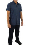 KS06 - Kolossus Men's Lightweight 100% Cotton Short Sleeve Work Shirt with Pockets