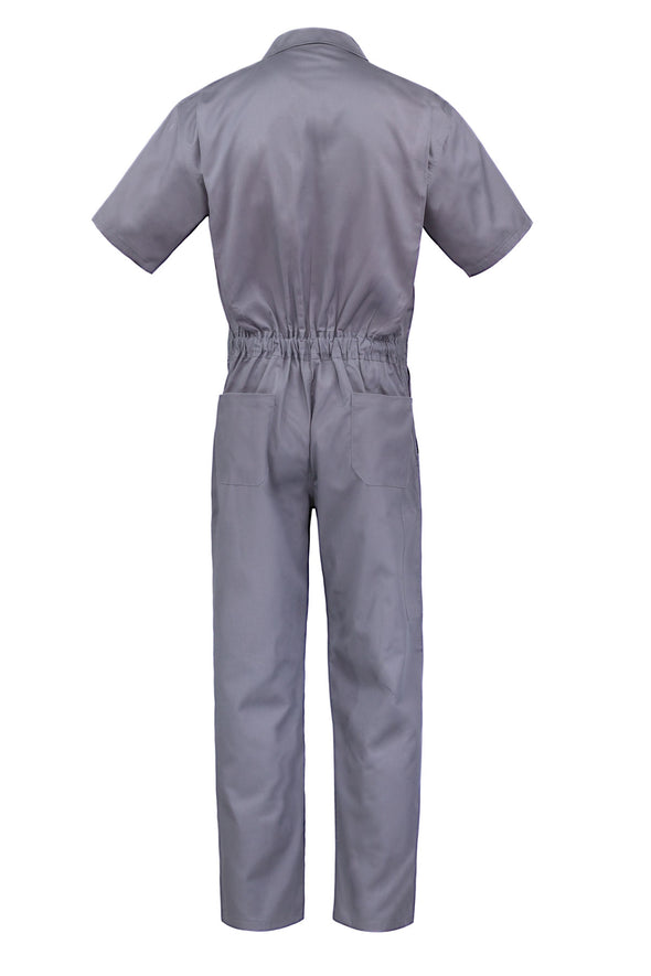 KC06 - Kolossus Deluxe Short Sleeve Cotton Rich Coverall with Multi Pockets