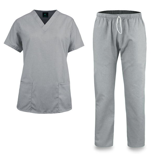 KM51M - Kolossus Women's Comfort Fit Medical Scrub Set