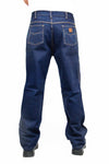 KJ01 - Kolossus Heavy Duty Relaxed Fit Straight Cut Five Pocket 100% Cotton Work Jeans with Triple Seams
