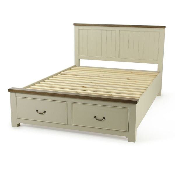 BROMPTON QUEEN STORAGE SLAT BED