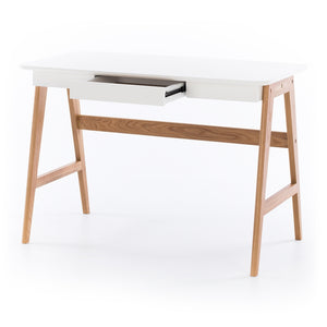 RADIUS DESK WHITE