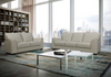 BACARI 3 SEATER OR 2 SEATER  LEATHER SOFA | 4 COLOURS