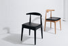 ELBOW CHAIR | BLACK, NATURAL OR DEEP OAK
