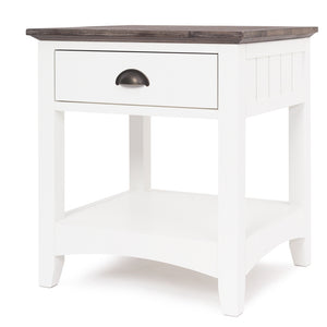PROVENCE 1 DRAWER BEDSIDE TABLE