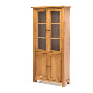 TUDOR DISPLAY CABINET